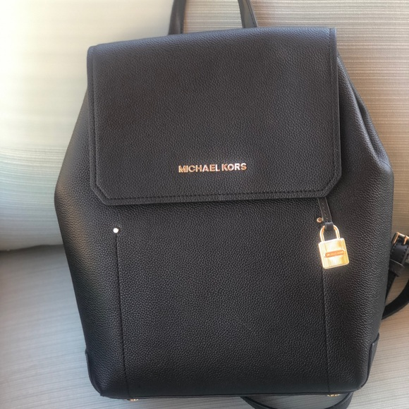 700f26e927b3 MICHAEL KORS 🦋HAYES Medium Leather Backpack